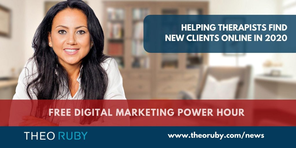 Power Hour 8 | Helping Therapists find new clients online in 2020 10